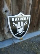 3d Wood Sign Raiders 24 Inches Tall. Wall Decor. Man Cave. Fast Shipping