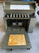 Wwii Us Army Signal Corp Bd-71/bd-72 Switchboard Vintage France Ike