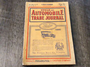 May 1911 Cycle And Automobile Trade Journal Magazine