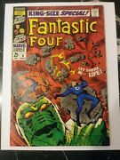 Fantastic Four Annual 6 1st Annihilus And Franklin King-size Silver Age 🔑