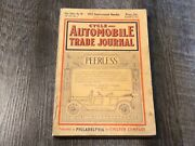 August 1911 Cycle And Automobile Trade Journal Magazine