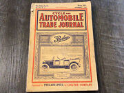 September 1911 Cycle And Automobile Trade Journal Magazine