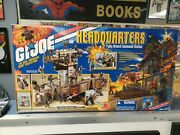 2001 Gi Joe Headquarters Fully Armed Command Station. With Rock N Roll...