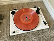 U-turn Orbit Basic Turntable- White W/ Built-in Preamp And Cue Lever