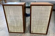 Excellent Classic Dynaco A25 Speakers That Sound Great Very Nice Cabinets