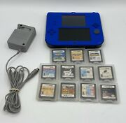 Nintendo 2ds Super Mario Bros Sonic Olympic Party Electric Blue 11 Games