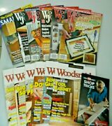 Lot Of 13 Woodsmith Magazine Woodworkers Journal Back Issues 2016-2017