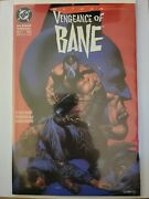Batman Vengeance Of Bane 1 1993 First Printing First Appearance Of Dixonvf+/nm