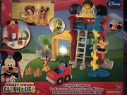 2013 Fisher Price Disney Mickey Mouse Clubhouse Funny Firehouse Playset New