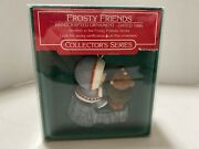 Frosty Friends Hallmark Collector's Series 1986 With Box