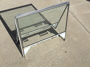 1972-80 International Scout Traveler Right And Left Side Door Window Glass Frame