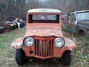Willys Jeep Overland Pu Truck Project Hot Rat Rod