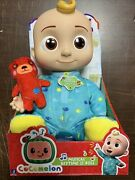 Cocomelon Roto Jj Doll Bedtime Soft 10 Singing Plush Toy Youtube New