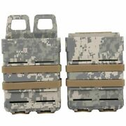 Outdoor Portable Hunting Tools Box Double Mag Pouch Magazine Carrier Boxes