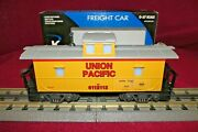 K-line K611-2112 Union Pacific Lighted Caboose Fits Lionel, Mth