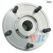 For Chrysler Town And Country Rear Set Of 2 Wheel Bearing And Hub Assembly Wjb