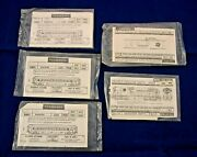 Lot Of 5 Walthers Ho Scale Decals For Cn Passenger Cars, Caboose, Gen-prp Diesel