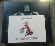 United Kingdom 2007 Proof Coin Collection With Case