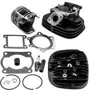 Cylinder Top End Kit W/piston Rings And Gasket For Yamaha Yfs200 Blaster 200 88-06
