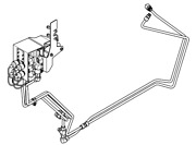 Genuine John Deere Compact Tractor Rear Hydraulic Quick-connect Kit Blv10461