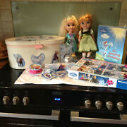 Disney Frozen 2 Dolls And Loads Of Extras In Toy Box- Make Excellent Gift
