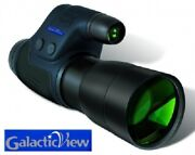 New Night Owl Optics Gview 6 Power Night Vision Monocular W/ Built In Infrared