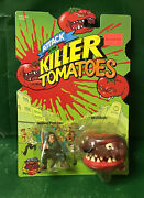 1991 Attack Of The Killer Tomatoes Wilbur F.and Beefsteak Nic By Mattel