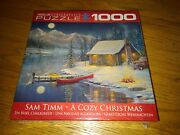 Eurographics A Cozy Christmas 1000 Piece Jigsaw Puzzle Art By Sam Timm New