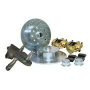 Drop Spindle Disc Brake Kit 5 On 4-3/4 Chevy King Pin 59-65 Dunebuggy And Vw