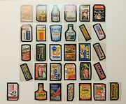 1974 Wacky Packages Series 5 Complete 31/32 Set Tan Backs