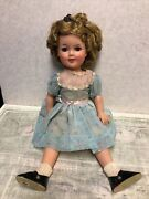 Vintage 1950andrsquos Shirley Temple 17andrdquo Doll Ideal Toy Co. St-17-1