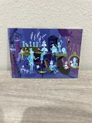 Disney Parks Shag 31 Ghosts Haunted Mansion Right Side 5x7andrdquo Postcard New