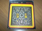 Touch Of Elegance Filigree Metal Dbl Light Switch Wall Plate American Track Hard