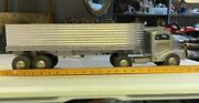 Nice 1950and039s Vintage Toy Truck Semi Cab Smith Miller Smitty Toys Hauler Usa