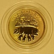 2019 Great Britain Year Of The Pig 1/4 Oz Gold Coin With Denomination 25 Pounds