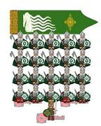 21pcs Lord Of The Rings Rohan Sword Long Axe Armybuilding Blocks Mini Figure Toy
