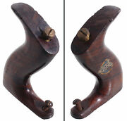 Orig. Rosewood Handle For Stanley No. 5 - Type 13 - Stanley Decal -mjdtoolparts