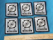 Lot Of 6 Different - Drivermechanicoperator - Military Patches
