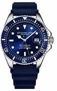 Stuhrling Pro Diver Menand039s Watch Japanese Movement Waterproof 3950r.2 Superb