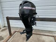 2011 Mercury 60hp Big Foot 20 4 Stroke Outboard Engine - Locked Up
