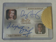 Buffy Ultimate Collection Series 3 - Alyson Hannigan And A. Denisof Dual Autograph