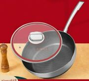 Induction Cooker Frying Pan Stainless Steel Pot Cover Glass Nonstick Cookware