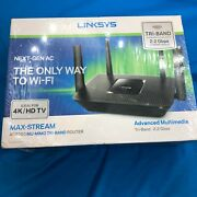 ⚡✈️ Ships Same Day Linksys Ea8300 Max Stream Dual Band Wireless Router - New
