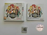 Tales Of The Abyss Jeu Game Nintendo 3ds 3 Ds Namco Rpg Ukv Avec Notice