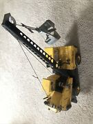 Nice Vintage 1960andrsquos Mighty Tonka Mobile Crane Pressed Steel Usa Toy Truck