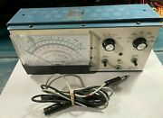 Tested Functional Heathkit Vtvm Im-5228 With Probe And Bracket