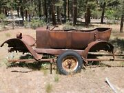 1920 Willy's Overland Touring Car Body Rat Rod Hot Rod Free Trailer Rat Rod