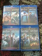 Harry Potter Ultimate Edition Blu-ray Year 1 - 7 - Complete Collectors Bundle