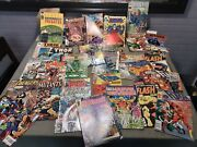 Large Lot Of 30 + Comic Books Vintage Mix Marvel, Dc And More.