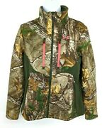 Under Armour Womens Infrared Scent Control Jacket Sz Small Real Tree